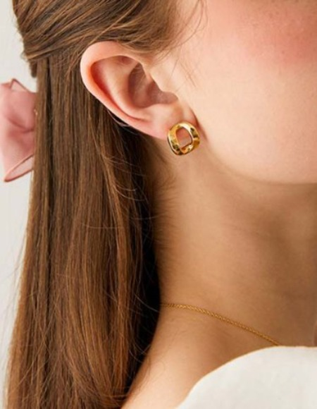 signature earring (3color)