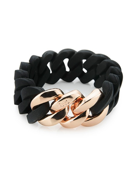 classic 20mm black/pink gold