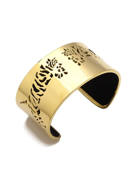 bangle tiger gold 35mm